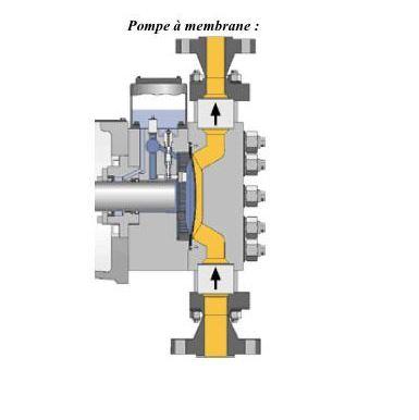 pompe-membrane